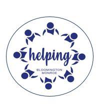 Helping Bloomington Monroe Button